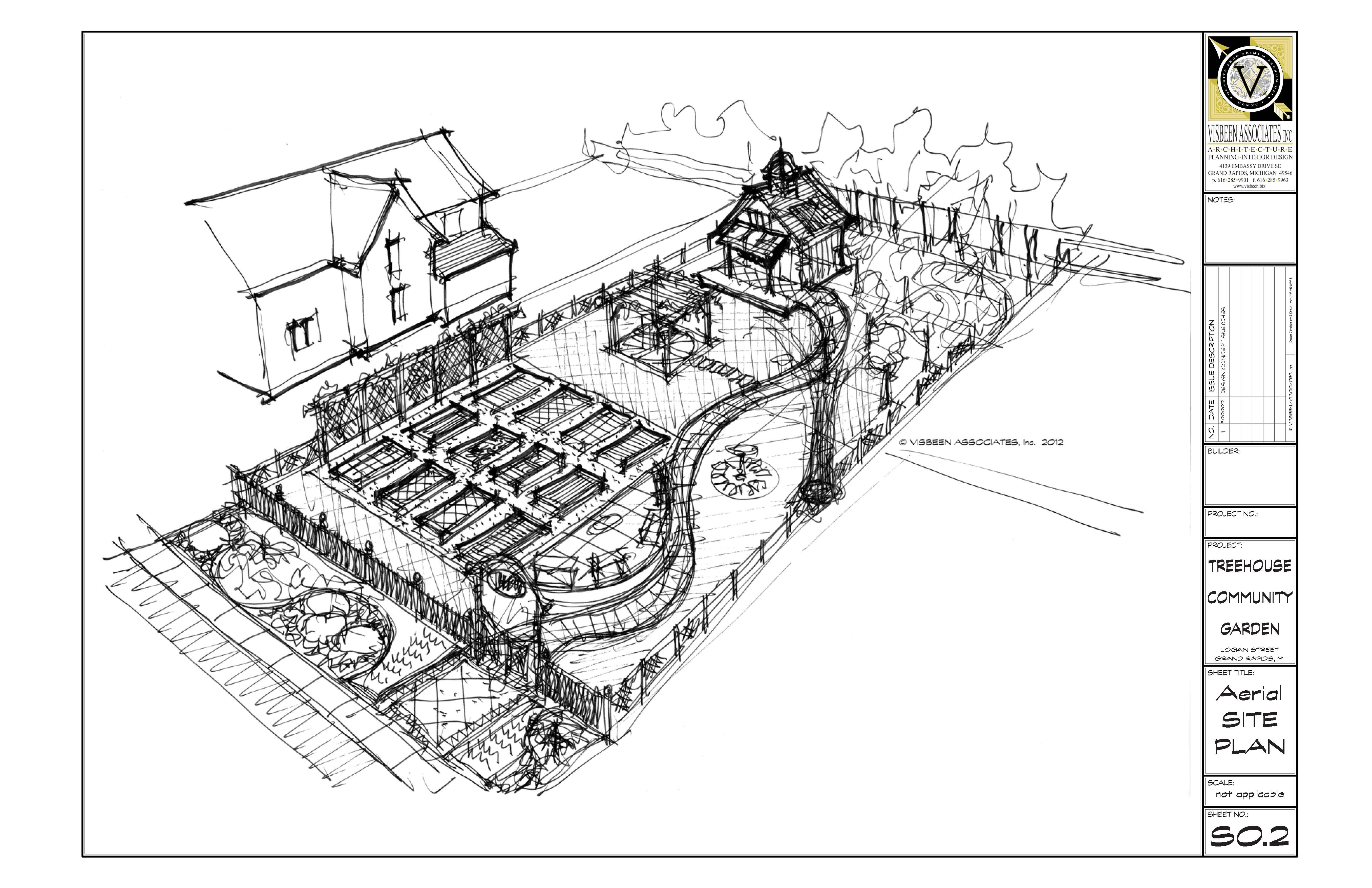 Plans The Treehouse Community Garden